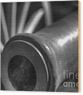 Kennesaw Cannon 1 Wood Print