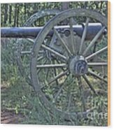 Kennesaw Cannon 4 Wood Print