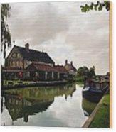 Kennett Amd Avon Canal Uk Wood Print