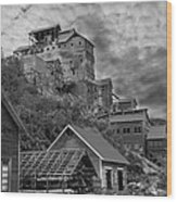 Kennicott Mine Wood Print