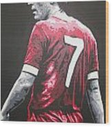 Kenny Dalglish - Liverpool Fc 2 Wood Print