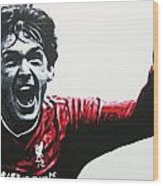 Kenny Dalglish - Liverpool Fc Wood Print