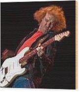 Kenny Wayne Shepherd Rocks His Stratocaster Wood Print