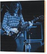 Kent #23 Crop 2 In Blue Wood Print