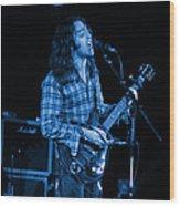 Kent #25 Crop 2 In Blue Wood Print