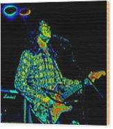 Kent #69 Enhanced In Cosmicolors 2 Wood Print