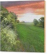 Kent Between Storms Wood Print