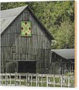 Kentucky Barn Quilt - 3 Wood Print