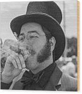 Kentucky Derby Infield Cigar Wood Print