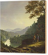 Kentucky Landscape 1832 Wood Print
