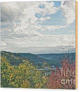 Kentucky Mountains In Autumn Wood Print