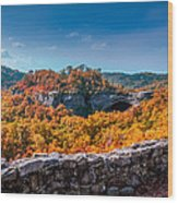 Kentucky - Natural Arch Scenic Area Wood Print