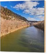 Kentucky River Palisades Wood Print