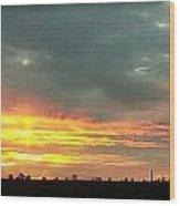 Kentucky Sunrise  Wood Print