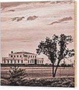Kentucky - United States Bullion Depository Fort Knox Wood Print