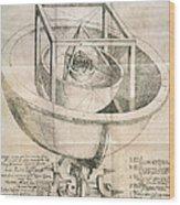 Keplers Universe, 1596 Wood Print