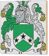 Ker Coat Of Arms Irish Wood Print