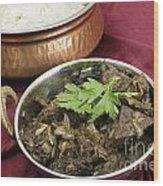 Kerala Mutton Liver Fry Horizontal Wood Print