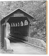 Herns Mill Bridge Wood Print