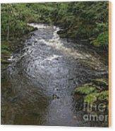 Ketchikan River Wood Print