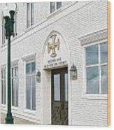 Ketchum Hall Wood Print