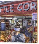 Kettle Corn Wood Print