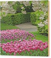 Keukenhof Gardens 35 Wood Print