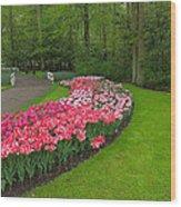 Keukenhof Gardens 51 Wood Print