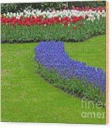 Keukenhof Gardens 62 Wood Print