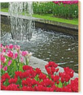 Keukenhof Gardens 71 Wood Print