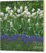 Keukenhof Gardens 92 Wood Print