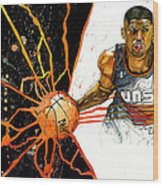 Kevin Johnson - Power Supplier  Wood Print