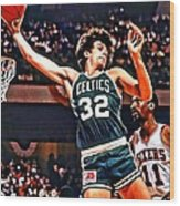 Kevin Mchale Wood Print
