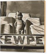 Kewpee Restaurant Wood Print