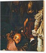 Kewpie's Bad Dream Wood Print