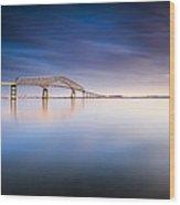 Key Bridge 2014 Wood Print