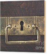 Key Hole Wood Print