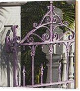 Key West Charm Wood Print
