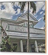 Key West Dreaming Wood Print