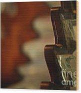 Key West Lighthouse Lens Wood Print