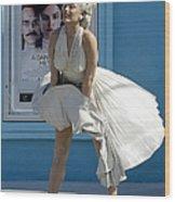 Key West Marilyn Wood Print