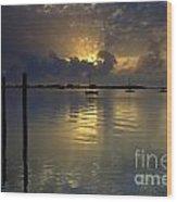 Keys Sunset IIi Wood Print
