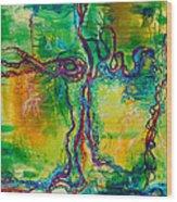 Keystone Wood Print