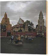 Khmer Life Wood Print