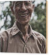 Khmer Peasant Wood Print