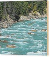 Kicking Horse River Wood Print