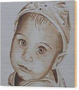 Kids In Hats - Isabella Wood Print