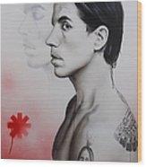Kiedis Apache Soul Wood Print