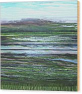 Kielderwater Rhythms And Reflections Wood Print