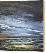 Kielderwater Storms Wood Print